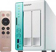 "QNAP NAS 2 Slot Hard Disk 2.5""3.5"" SATAIII LAN Processore N3060 2 Gb TS-251A-2G"