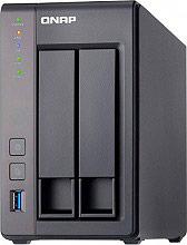 """QNAP NAS Hard Disk 2.5""""  3.5"""" 2 Slot Ethernet USB 3.0 USB 2.0 HDMI - TS-251+"""