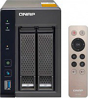 "QNAP NAS Hard Disk 2.5""  3.5"" 2 Slot Ethernet USB 3.0 HDMI Ram 4GB -TS-253A"