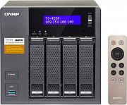 "QNAP NAS 4 Slot Hard Disk 2.5""  3.5"" Sata II  III LAN Intel N3150 TS-453A-4G"