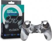 Qubick ACP40102 Guscio Silicone Camouflage per Controller PS4