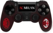 Qubick ACP40121 Cover Gamepad Silicone+Grip AC Milan 3.0 DualShock 4