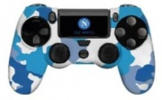 Qubick ACP40138 Cover Gamepad Kit Silicone+Grip SSC Napoli 3.0 DualShock 4