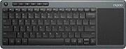 RAPOO Tastiera Wireless Senza Fili Touchpad Mouse Integrato K2600 16946