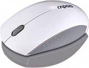 RAPOO Mini Mouse ottico wireless 1000DPI Rotella Grigio, Bianco - 16974 | 3360