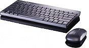 RAPOO Tastiera QWERTY mouse ottico 2 tasti Wireless Senza fili USB RP8000BGR I