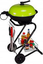 RGV Barbecue Elettrico da Giardino 1500 Watt Vano raccogligrasso GRILL  110551