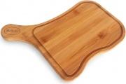 RGV 701861 Tagliere Legno Bamboo per Affettatrice con Piedini Antiscivolo