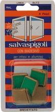 Ral SALVASP.BR. Salvaspigoli per Infissi Alluminio Bl. Pz 8 Bronzo Confezioni 28