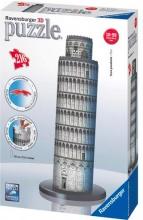 Ravensburger 12557 Puzzle 3D Torre di Pisa 216 pz 3D