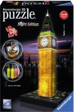 Ravensburger 12588 Puzzle 3D Big Ben Night Edition 216 pz 3D