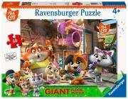 Ravensburger 3005 44 Gatti- Puzzle 60 Pz Gigant