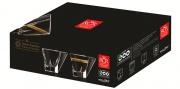 Rcr Cristallerie RCR273775 Tazzine Vetro Confezione 6 Pezzi senza Piatt. Fusion Rcr