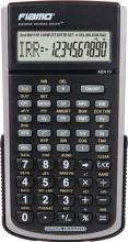 Rebell ABA10 Calcolatrice Finanziaria 10 cifre Nero  Flamo