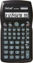Rebell SC2030 Calcolatrice Scientifica 10 cifre a Batteria colore Nero
