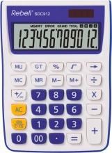Rebell SDC912VL Calcolatrice da Scrivania 12 cifre Bianco Viola