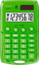 Rebell Starlet GR Calcolatrice 8 cifre Batteria  Solare colore Verde