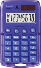 Rebell Starlet VL Calcolatrice 8 cifre Batteria  Solare colore Viola