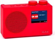 Red Line SOUNDABONER Radio Digitale DAB  DAB+  FM Portatile Rosso  SoundDAB One