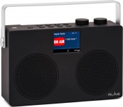 Red Line SOUNDABTWOB Radio Portatile Digitale DAB+ Radiolina Bluetooth Nero