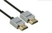 Redline RDL1582 Cavo HDMI 1 m HDMI tipo A Standard Nero Argento