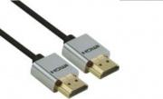 Redline RDL1584 Cavo HDMI 3 m HDMI tipo A Standard Nero Argento