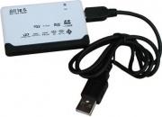 Reporter 02263 Lettore di Schede Esterno USB 2.0 lettore Multicard - Reporter