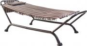 Rigamonti 4018000 Amaca da Giardino in acciaio con cuscino 231x97.5 cm