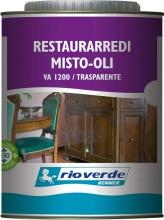 Rio Verde VA1200-125 Rioverde Va 1200 Restaurarredi Trasparente 0,750 Pezzi 6