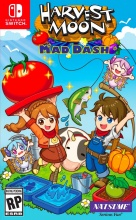 Rising Star Game 1037599 Switch Harvest Moon Mad Dash Simulazione 3+