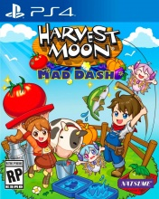 Rising Star Game 1037600 PS4 Harvest Moon Mad Dash Simulazione 3+