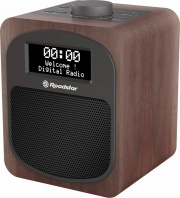 Roadstar HRA600DWD Radiosveglia Legno Dab+ con Display Legno