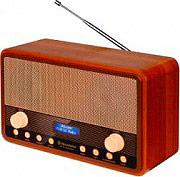 Roadstar Radio Portatile a Batteria FM DAB colore Legno HRA-1300DAB+