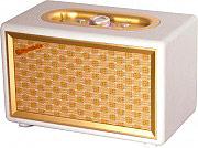 Roadstar Radio Personale alimentazione AC con ingresso AUX FM Crema HRA-310BTCR