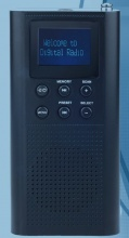 Roadstar TRA70D+ Radiolina Portatile Digitale DAB potenza 6 Watt colore Blu TRA-70D+BK