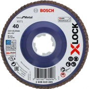 Robert Bosch 2608619205 Bosch B Disco Lamellare x Lock gr 40 mm 115 Pezzi 10