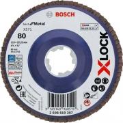 Robert Bosch 2608619207 Bosch B Disco Lamellare x Lock gr 80 mm 115 Pezzi 10