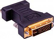 Roline Adattatore da Dvi-I 24+5 poli Maschia a VGA 15 poli femmina 12.03.3105