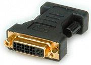 Roline Adattatore da DVI a VGA DVI F HD15 M colore Nero 12.03.3110
