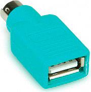 Roline Adattatore da USB a PS2 Adattatore Mouse colore Verde 12.99.1072