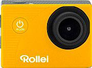 ROLLEI 40142 Action Cam Wifi Full HD Impermeabile + Accessori colore Giallo