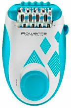 Rowenta EP2910F0 Epilatore elettrico 24 pinzette 2 Velocità Blu -  Skin Spirit