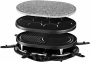 Russell Hobbs 21000-56 Raclette Elettrica Barbecue Tavolo 3 Piastre 8 padellini