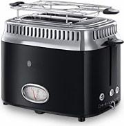 Russell Hobbs 21681-56 Tostapane Toast 2 Fette 1300W  Retro Classic Noir
