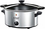 Russell Hobbs Slow Cooker Pentola elettrica 3,5Lt 160W col Nero Argento 22740-56