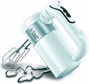 Russell Hobbs Sbattitore Elettrico Mixer 500W 4 Velocità + 2 Fruste 22960-56