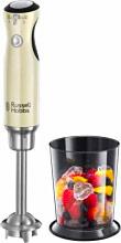Russell Hobbs 25232-56 Frullatore immersione Minipimer Potenza 700 W 2 Vel Crema Retrò