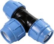 SAB B080025025A Raccordo a T plastica per Tubo Giardino Irrigazione 25 mm