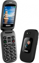 SAIET 13500851 Telefono Cellulare GSM Bluetooth colore Nero