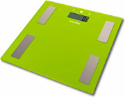 SALTER Bilancia Pesapersone Elettronica Digitale 180 Kg in Vetro 9150GN3R
